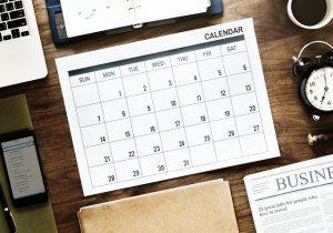 calendar fiscal luna octombrie 2019